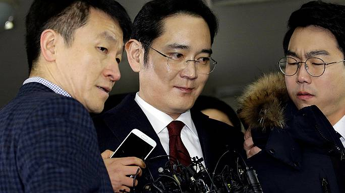 Herdeiro da Samsung suspeito de corrupção arrisca detenção