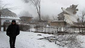 Авиакатастрофа в Киргизии: десятки погибших