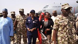 Nigeria: Bring Back Our Girls activists join tour of former Boko Haram HQ