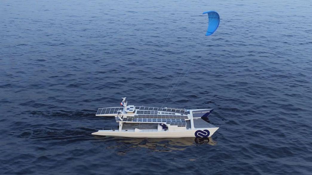 100'de yüz yenilenebilir enerji kullanan Energy Observer teknesi Dünya'yı turlayacak