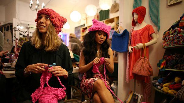 Nők mozgósítanak Trump és a diszkrimináció ellen