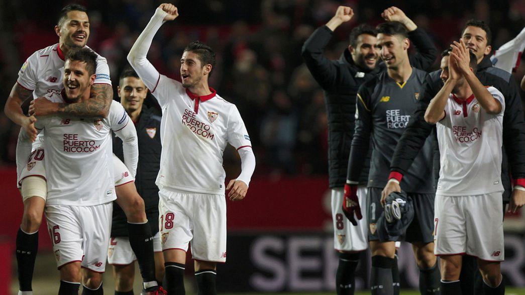 La Liga: Sevilla stun Real Madrid to open up title race