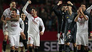 Séville fait chavirer le Real Madrid