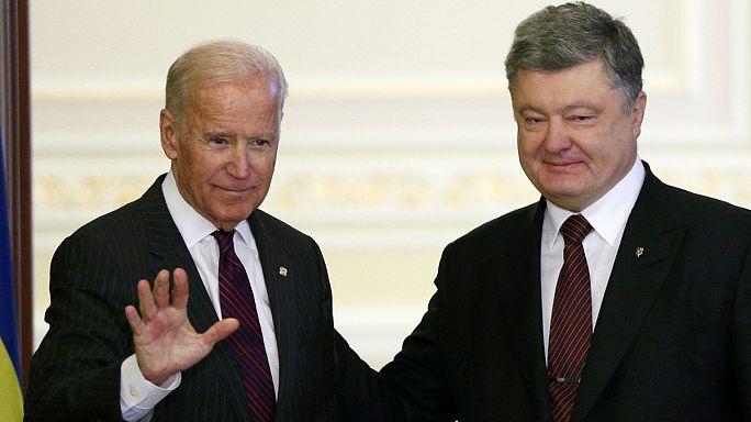 Джозеф Байден приехал в Киев с прощальным политическим заявлением