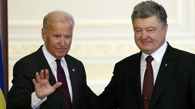 Biden'dan Ukrayna'ya kritik ziyaret