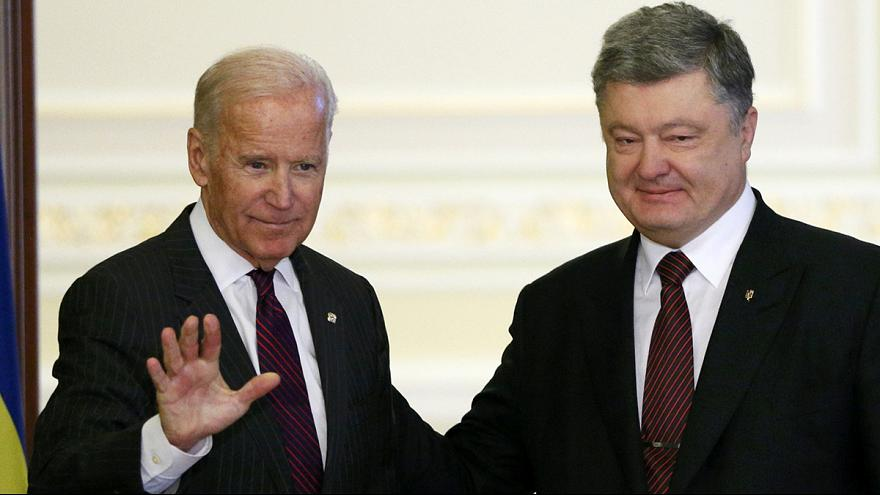 بايدن يؤكد الدعم الأميركي لأوكرانيا في آخر زيارة رسمية إلى كييف