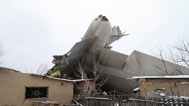 Kyrgyzstan village devastated as dozens die in Turkish cargo plane crash