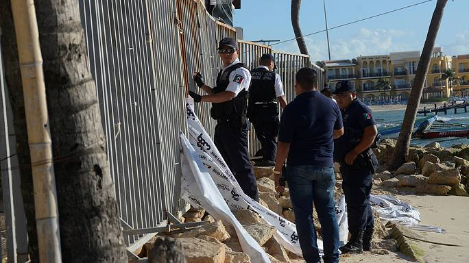 Un tiroteo deja cinco muertos en la turística localidad mexicana de Palya del Carmen