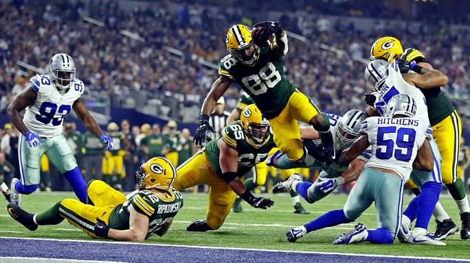 Nfl: Packers e Steelers alle finali di conference, fuori Cowboys e Chiefs