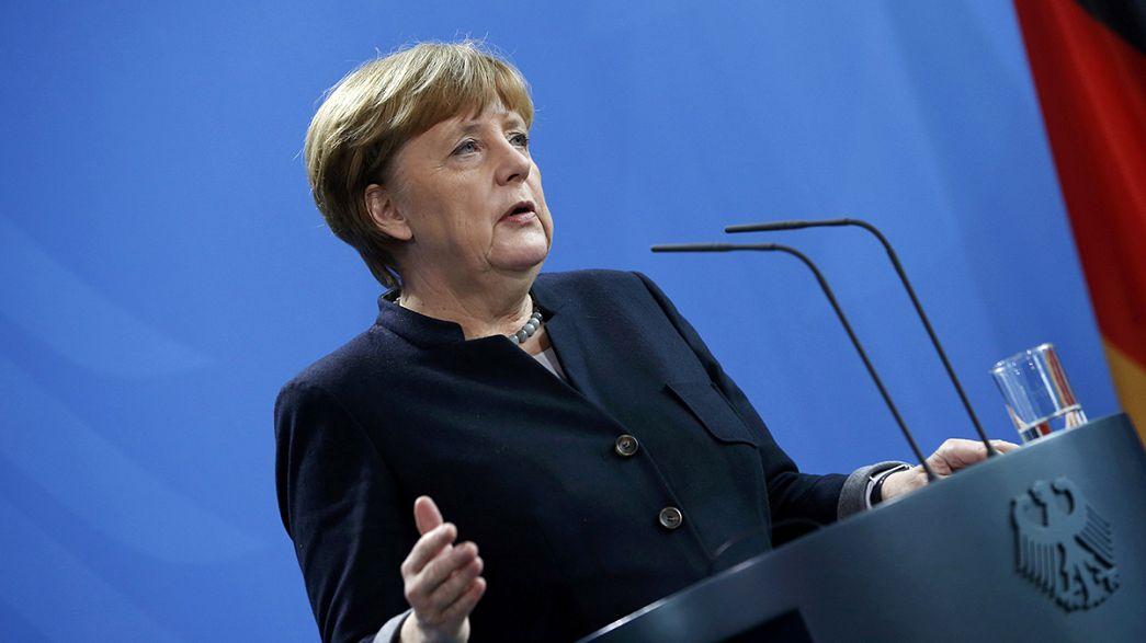 UE não responde a Trump, Merker mantém confiança nos 27