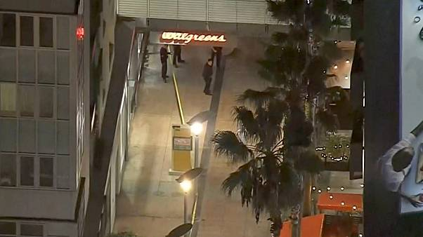 Image: A security guard fatally shot Jonathan Hart at a Walgreens in Hollyw