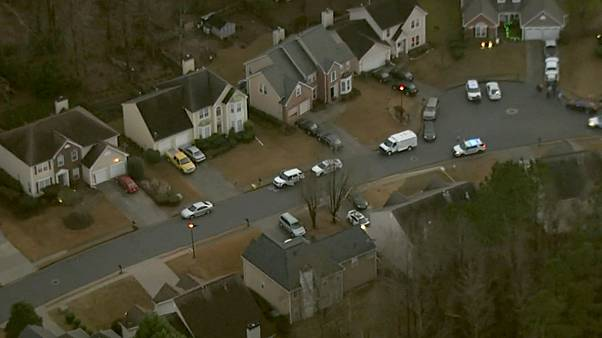 Image: Authorities are investigating a shooting involving two teenagers in