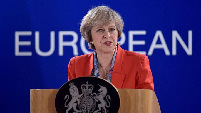 İngiltere ve AB'de gözler May'in konuşmasında