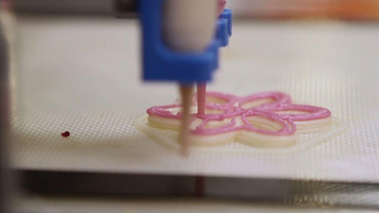 Máquinas que imprimen nuestra comida