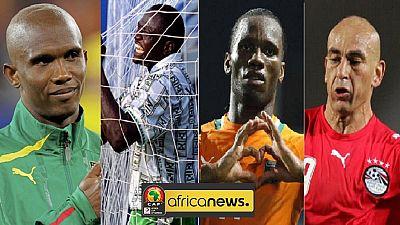 AFCON history - Eto'o, Pokou, Yekini and top African marksmen