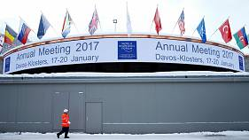 Davos debates difficult times