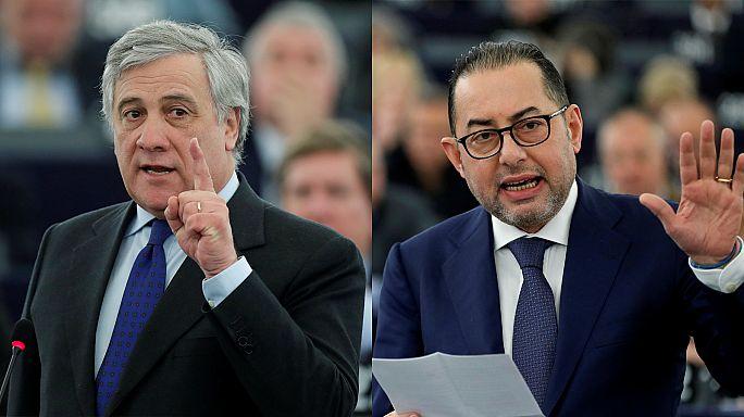 EP president race enters third round