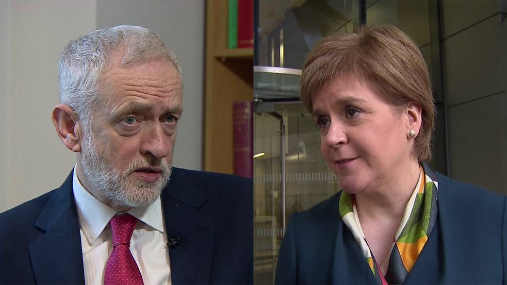 Líderes dos Trabalhistas e da Escócia criticam discurso de Theresa May