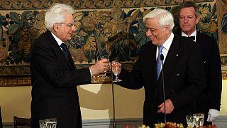 Στην Αθήνα ο πρόεδρος της Ιταλίας, Σέρτζιο Ματταρέλα