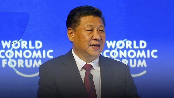 """Davos: el presidente chino alerta de que """"nadie resultará ganador en una guerra comercial"""""""