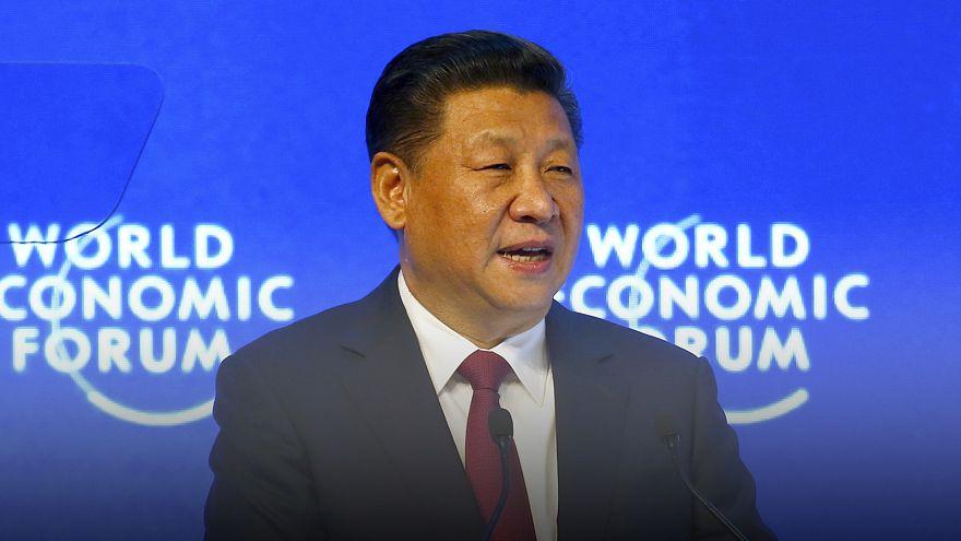 Chinas Präsident Xi Jinping in Davos: Nein zum Protektionismus, ja zum Freihandel