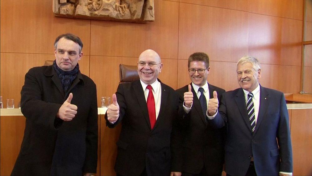 Párt maradhat a német neonáci mozgalom, az alkotmánybíróság nem találja veszélyesnek az NPD-t