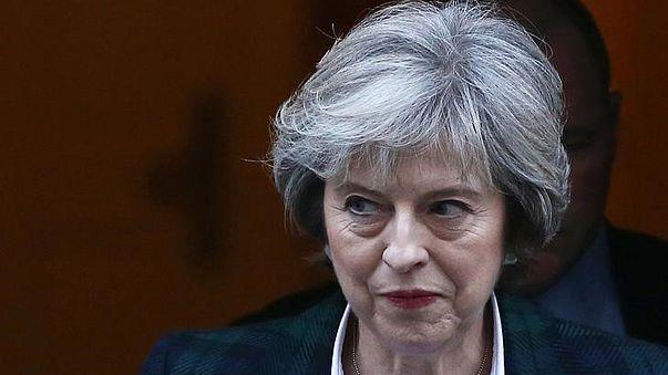 Brexit: May will klaren Schnitt zwischen Großbritannien und EU