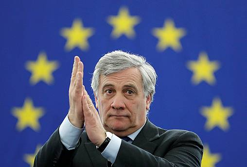 Antonio Tajani is the new European Parliament president