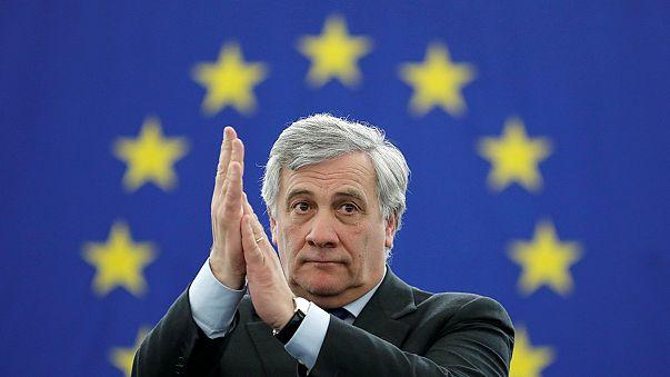 El italiano Antonio Tajani, conservador, nuevo presidente del Parlamento