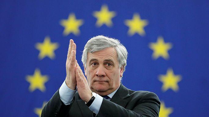 Antonio Tajani nuovo presidente del Parlamento europeo