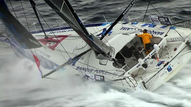 """Vendée Globe: À beira da meta, Alex Thomson """"voa"""" nas ondas atrás de Le Cléac'h"""