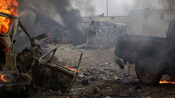 Сирия: бои под Дейр-эз-Зором; Лавров обвинил Запад в подрыве перемирия