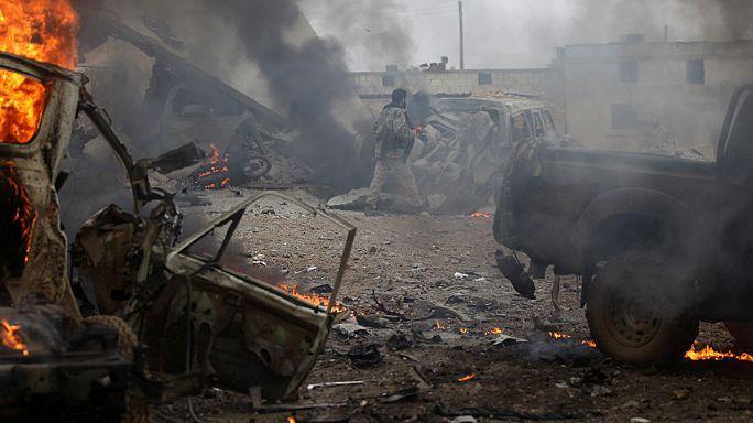 Intensos combates en el noreste de Siria escenario de una ofensiva del Dáesh