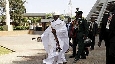 Le Parlement gambien prolonge le mandat de Yahya Jammeh de trois mois