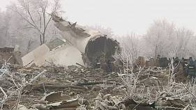 Plane crash victims mourned in Kyrgyzstan