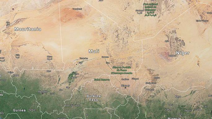 Suicide bomber kills dozens in attack on army camp in Mali