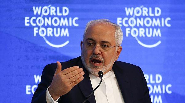 جواد ظریف در داووس: درهای ایران در زمینه روابط اقتصادی با آمریکا باز است