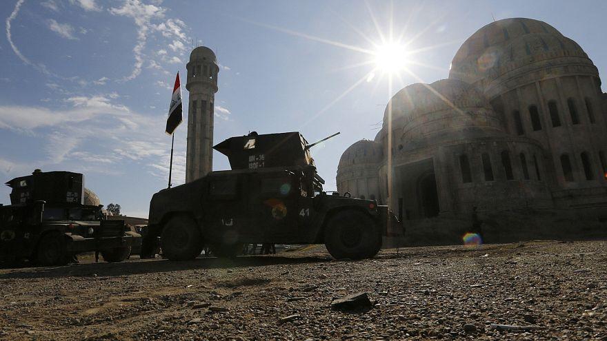 القوات العراقية تعلن تحرير الجانب الشرقي من الموصل من يد داعش