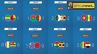 AFCON 2017: First round ends - 8 games, 5 draws, 3 wins, 12 goals