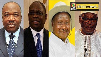 CAN 2017 : les chefs d'États africains soutiennent leurs équipes sur Twitter