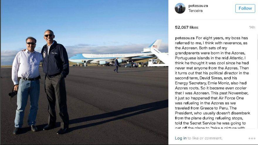 """Pete """"O Açoriano"""" Souza, o fotógrafo de Barack Obama"""