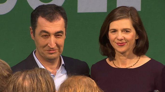 Verdes escolhem líderes de campanha e não descartam coligação com Merkel