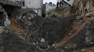 Szíria: ismét az Iszlám Állam állásait bombázták al-Bab térségében