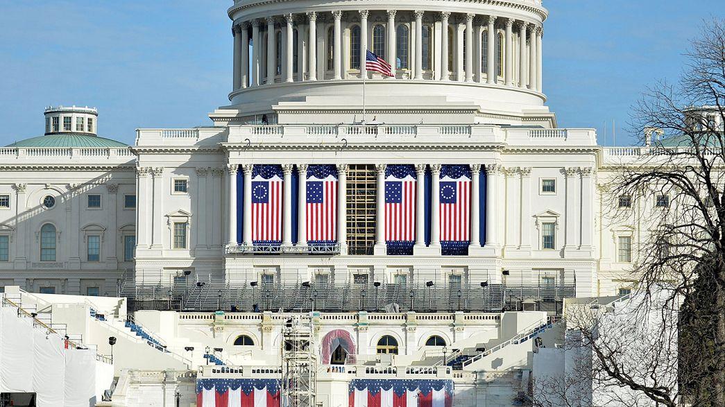 Washington prepares for Friday's inaugural festivities