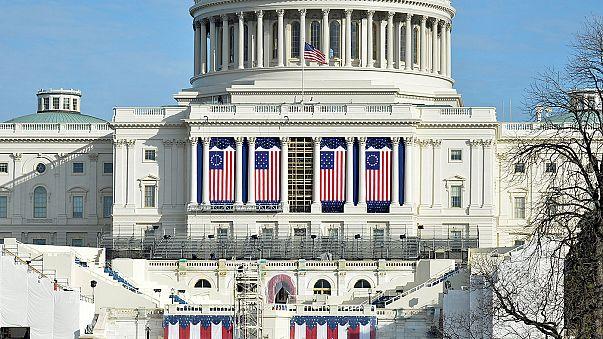 Washington si prepara all'Inauguration Day