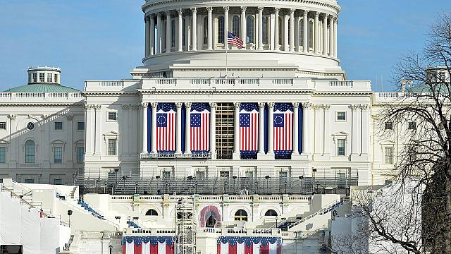 Washington prepares for Friday's inaugural festivities