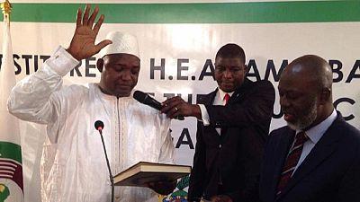 L'investiture d'Adama Barrow au Sénégal