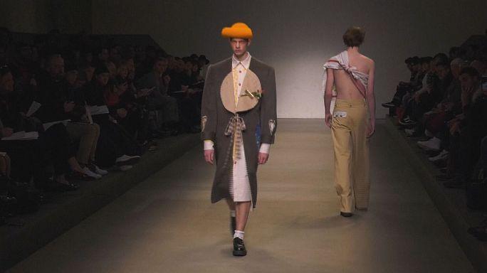 أرماني يدعم ثلاثة مصممين شبان في أسبوع الموضة الرجالية في ميلانو