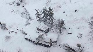 Four dead, up to 25 missing, after avalanche hits central Italian hotel