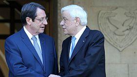 Παυλόπουλος-Αναστασιάδης: Λύση για το Κυπριακό χωρίς εγγυήσεις και τουρκικά στρατεύματα